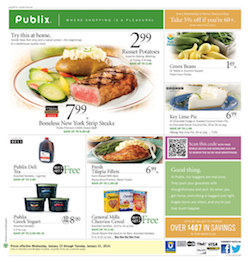 publix ad Quick List For Publix Deals & Coupons