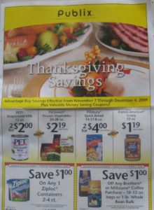 thanksgiving savings yellow adv