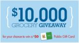 10K campbells sweeps Another Publix/Cambells Sweepstakes   Win $50 Publix Gift Card