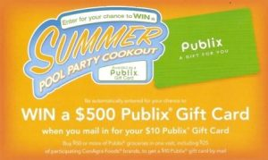 summer pool party 300x179 New Publix/ConAgra Gift Card Mail In Rebate
