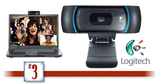 Grateful Giveaways Round Two Giveaway 3 Logitech Hd Webcam C910