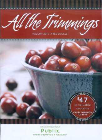PublixAllTheTrimmings2010 New Booklet   All The Trimmings