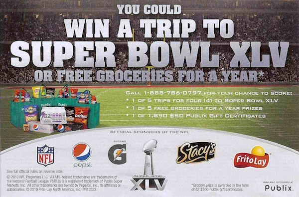 New Sweepstakes - Win A Year's Worth Of Groceries