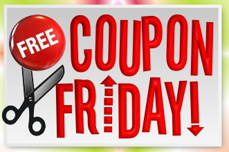 free coupon friday Free Coupon Friday   2/10