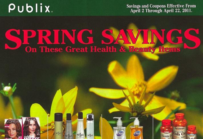 Spring Savings Green April 2011 Green Advantage Flyer Spring Savings Effective 4/2 through 4/22