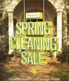 Publix Spring Cleaning Flyer/Mailer