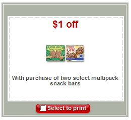 nature valley New Target Printable Coupons 4/21