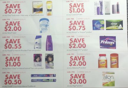 publix PG1 P&G Flyer With Publix Coupons