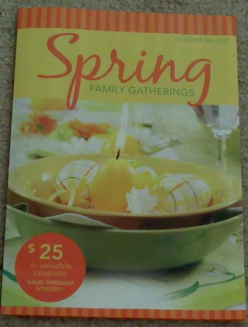 spring family gatherings2 New Booklet   Spring Family Gatherings