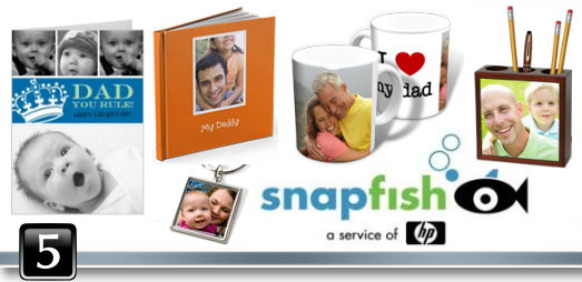 Dad GG 5 snapfish Grateful Giveaways   $100 Snapfish Gift Card