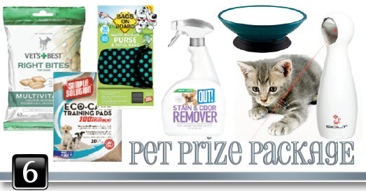 Dad GG 6 pet package Grateful Giveaways   Pet Prize Package