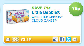 Screen shot 2011 05 09 at 9.30.51 PM Little Debbie Cloud Cakes Coupon