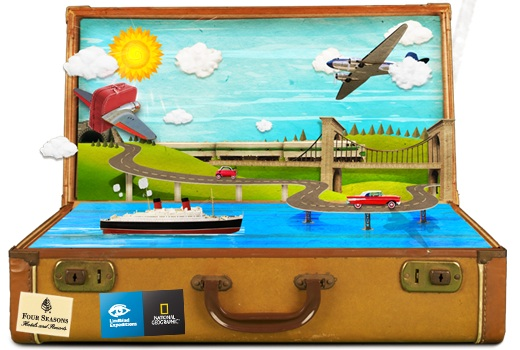GYV Suitcase RecycleBank   Green Your Vacation Contest & More Free Points!!