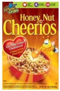 Honey Nut Cheerios 198x300 Nice Deal On Cheerios Cereal & Milk At Publix