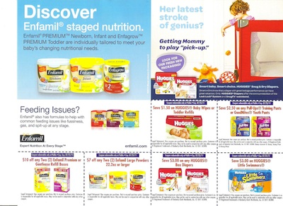 HuggiesEnfamil 001 New Flyers & Coupons Found At Publix