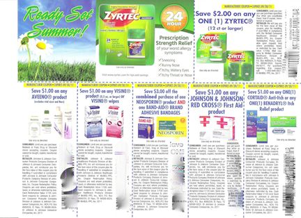 ReadySetSummer 001 New Flyers & Coupons Found At Publix