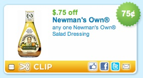 newmans own Newmans Own Dressing Coupon