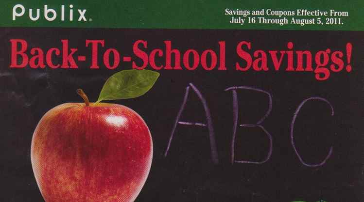 Green Mid July Green Advantage Buy Flyer Back to School Savings! (7/16 to 8/5)