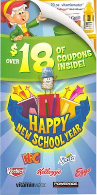 Happy New School Year Booklet New Keebler/Kelloggs Booklet