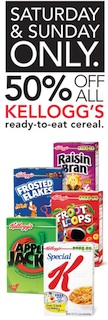 kelloggs 50 cereal Kelloggs Cereal Pricing And Publix Deals For Our 50% Off Sale 2/8 & 2/9