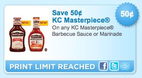 Screen shot 2011 08 21 at 9.40.13 AM Free KC Masterpiece Barbecue Sauce At Publix