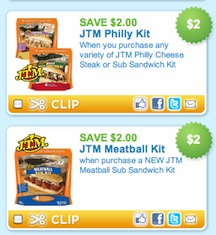 jtm sandwiches New JTM Sandwich Printable Coupons