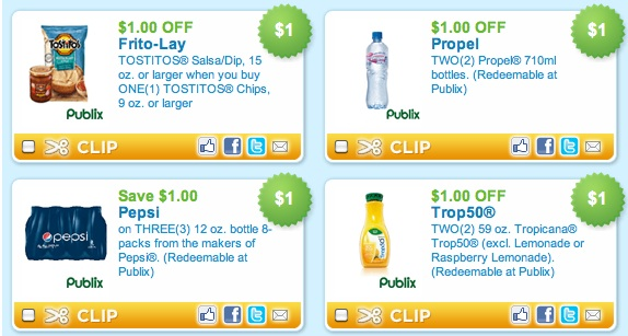 graphic about Pepsi Printable Coupons referred to as Very hot Printable Discount coupons - Frito Lay, Propel, Pepsi Publix