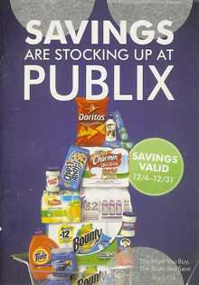 StockingSpreeDec2011 s Savings Are Stocking Up At Publix Coupon Booklet