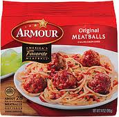 Armour Meatball Coupon   $2.79 Per Bag At Publix