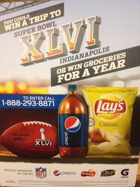 publix super bowl e1325857236138 New Publix/PepsiCo Sweepstakes   Win Groceries For A Year!