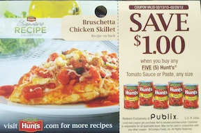 italian days hunts Publix Italian Days Coupons 2012