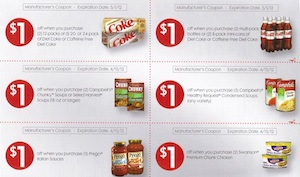 couponsheet Coca Cola Coupon Sheet Spotted