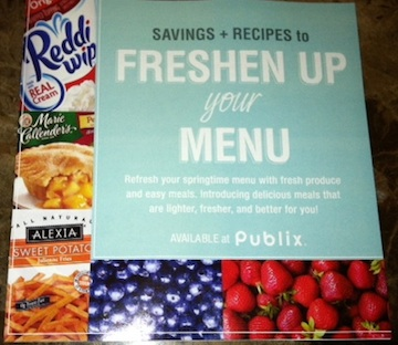 publix booklet copy New Booklet & Publix Coupons   Savings & Recipes to Freshen Up Your Menu
