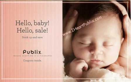 "HelloBabyHelloSale2012 s Publix Coupon Booklet   ""Hello, baby! Hello, sale!"""