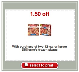 digiorno New Target Printable Coupons 4/29