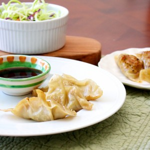 potstickers 300x300 Big Taste Small Budget   Chicken Pot Stickers