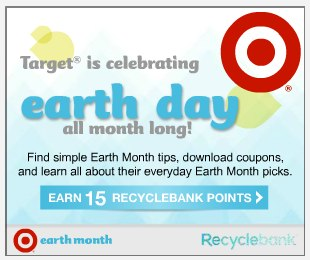 target 45 More Recyclebank Points Available Today