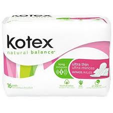 Free Kotex Natural Balance Pantiliners At Publix