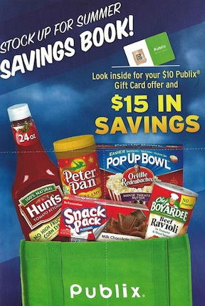 stock up savings publix New Publix Booklet   Stock Up for Summer Savings