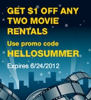 HELLOSUMMER extrashort Blockbuster Express Code   Free & Cheap Movies