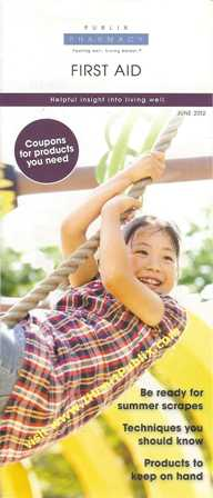 PublixPharmacy June2012 s Publix June Pharmacy Booklet First Aid