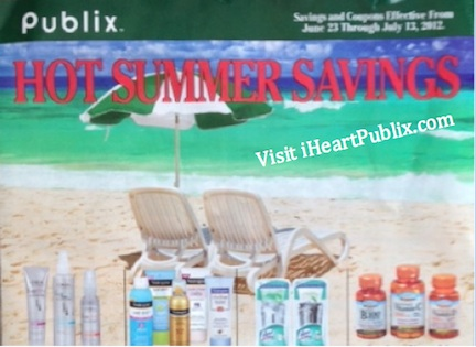 publix green summer Publix Green Advantage Buy Flyer Hot Summer Savings 6/23 to 7/13