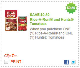 Screen Shot 2012 07 24 at 9.00.47 PM Fabulous Hunts & Rice A Roni Coupon For Upcoming Publix Ad!