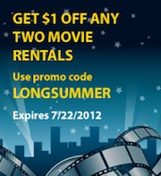 blockbuster Blockbuster Express Code Through 7/22