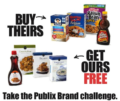 Publix buy theirs get ours free