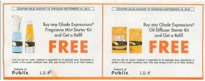publix glade coupons