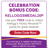 kelloggs points1 New Kelloggs Family Rewards Code