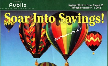 publix green advantage aug 2 Publix Green Advantage Buy Flyer Soar Into Savings (8/25 to to 9/14)