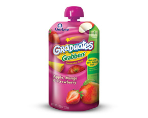 GrabberPouch3DAppleMangoStraw large Gerber Coupons Reset & Cheap Gerber Pouches At Publix