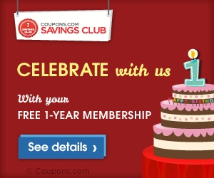 coupons.com savings club